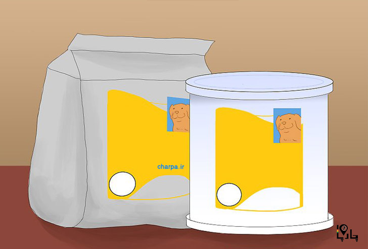 جایگزین شیر مادر برای توله سگ